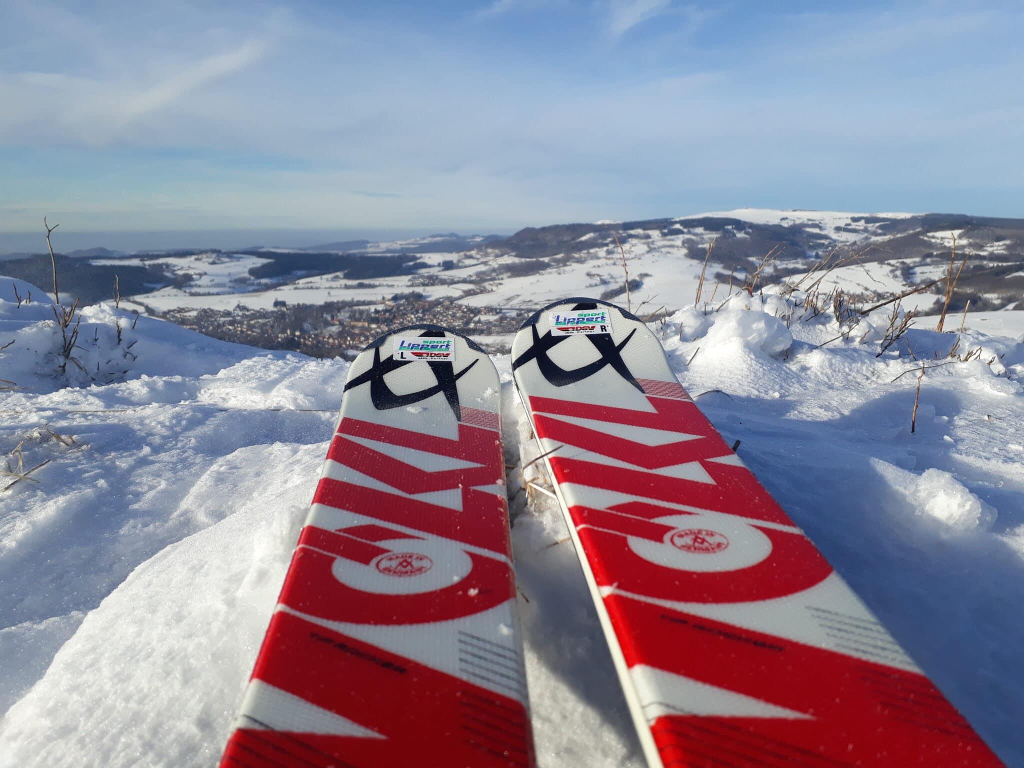 Ski Alpin am Simmelsberg Gersfeld (Rhön) Skifahren
